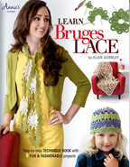 Learn Bruges Lace front cover