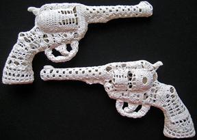 Crochet Pistols