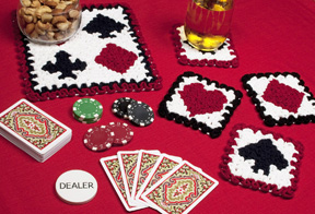 Wiggly Crochet Playing Cards Set