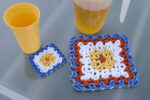 CA-110 Wiggly Flower Hot Pad & Coaster 1