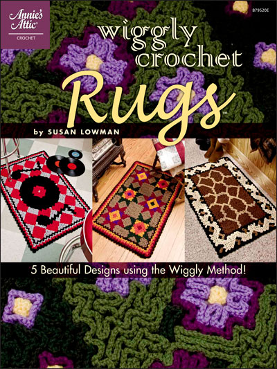 &quot;Wiggly Crochet Rugs&quot; booklet