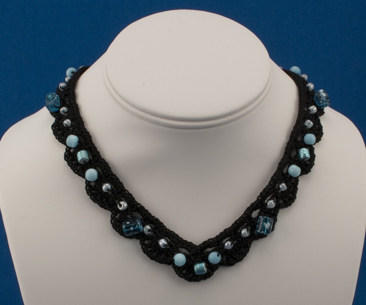 CA-108 Beaded Shells Necklace 1