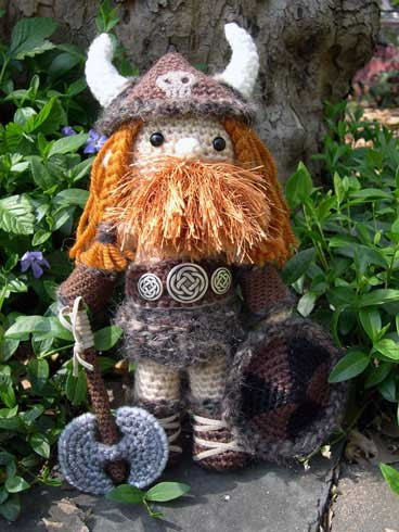 Kara Lyon's Viking Doll