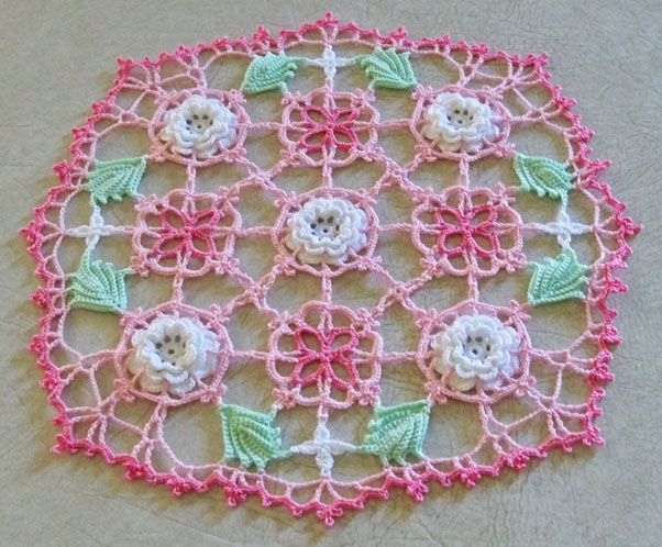 project from Kathryn White's doily pattern
