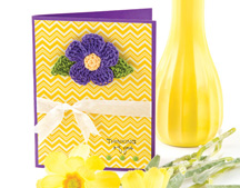 Flower Pin Card