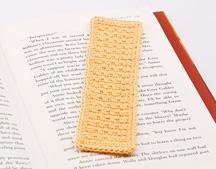 Seed Stitch Bookmark