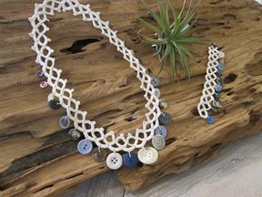 Kara's necklace and bracelet