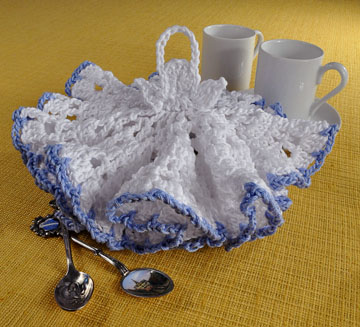 Angel Dishcloth - Free Crochet Pattern | crochet | Pinterest