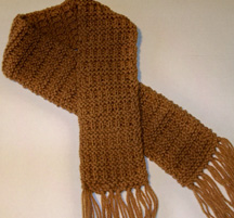 Knit Child's Scarf
