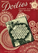 Vintage Doilies book from 1940