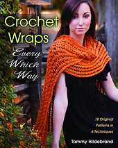 Crochet Wraps Every Which Way front cover