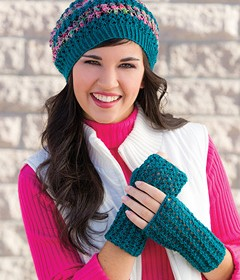 Garden City Hat & Mitts