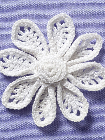 Irish crochet flower the crochet architect irish crochet flower dt1010fo
