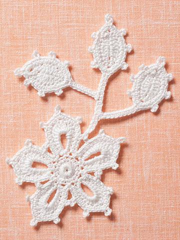 Irish Crochet Lace Motifs Free Patterns : Irish Crochet sampler motifs The Crochet Architect