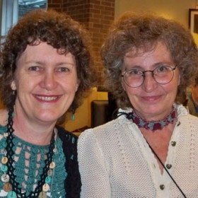 Susan & Kathy at CGOA Conference in 2013