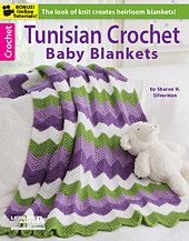 Tunisian Crochet Baby Blankets front cover