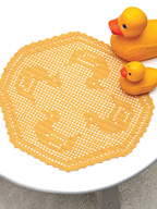 Duck Pond Doily