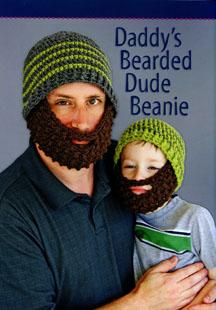 Daddy's Bearded Dude Beanie