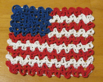 Sally's July 4th Hot Pad