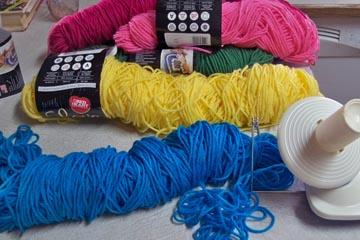 Messy yarn!