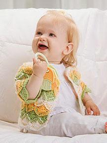Baby Crop Cardigan