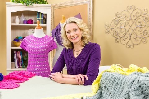 Ellen Gormley's Learn to Crochet Lace class