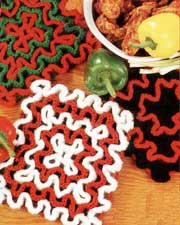Basic Wiggly Potholder