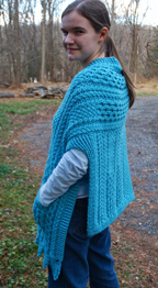 Doolin Delight Sweater Wrap back