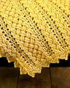 Hialeah Honey Baby Blanket close up