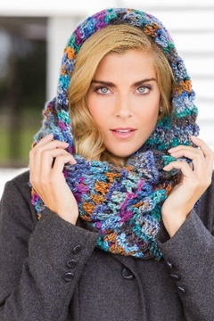 Nantucket Cowl from Dec 2014 Crochet World magazine