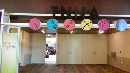 TNNA door sign