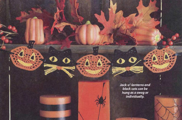 Halloween Swag from Oct 2009 issue of Crochet World magazine