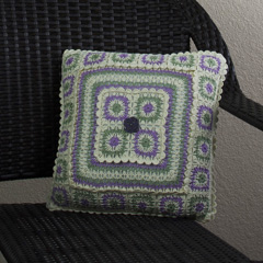 10 Country Gardens Pillow alt by Joyce Geisler