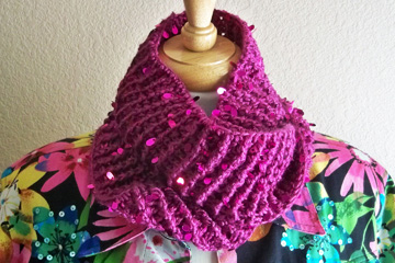 Swanky Cowl doubled