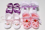 4 Pairs of Baby Booties and Sandals