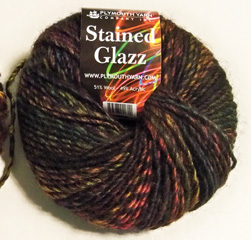 Plymouth Stained Glazz yarn for 2nd Skinny Scarf