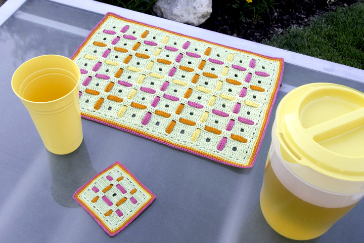 Filet Woven Placemat set