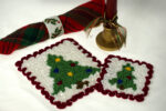 Wiggly Christmas Tree Hot Pad & Coaster