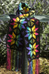 Stained Glass Snowflake Scarf