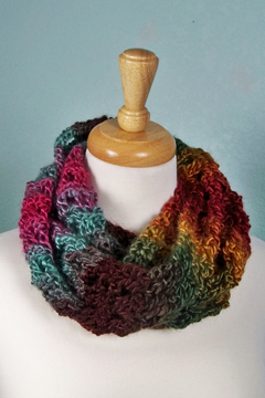 Landscapes Cowl doubled