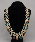 CA 107 Faux Tatted Necklace 3A smaller