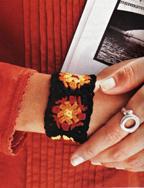 Granny Square Bracelet smaller