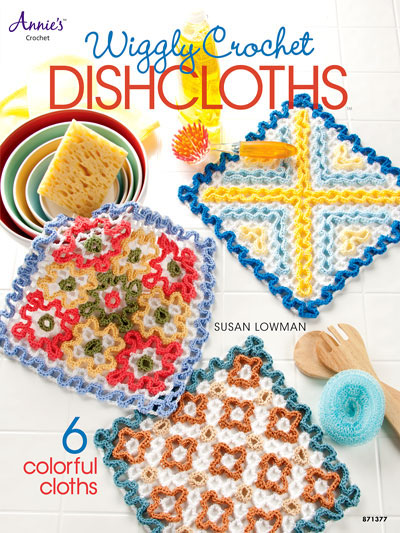 Front cover of Wiggly Crochet Dishcloths