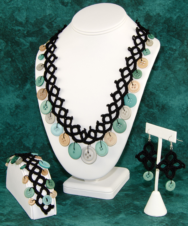 Faux Tatted Jewelry Set