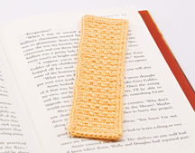 Seed Stitch Bookmark