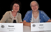 Jane Rimmer and me at the CGOA Member Meeting