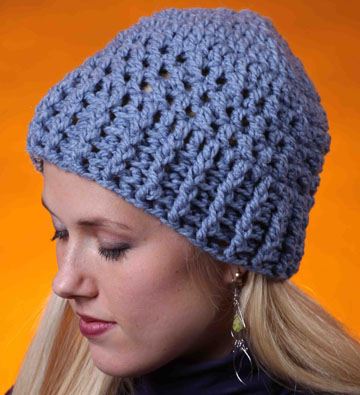 Crossed Stitch Hat