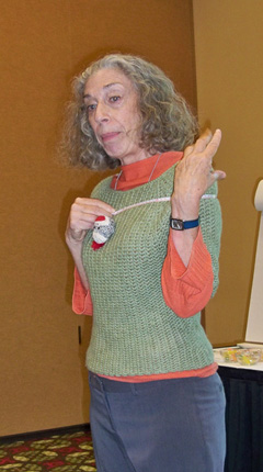 "Dora Ohrenstein of ""Crochet Insider"""
