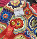 2nd Prize Afghan by Jessie Rayot