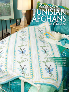 Colorful Tunisian Afghans to Crochet book
